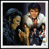 DIY 5D Diamond Artist with Diamond Embroidery Elvis Presley Home Decoration Painting