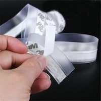 1M Window door Transparent Windproof high Over Silicone Sealing Strip Bar Door Sealing Strip