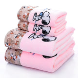 1 Pc Cotton Cloth with SNOOPY Pattern Cartoon Towel