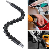 Useful Tools Gadgets Flexible Shaft Bits Extention Screwdriver Drill Bit Holder Connecting Link