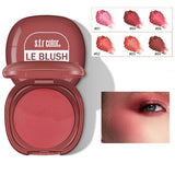 Pure Mineral Blush, Sub-monochrome Matte Blush Disk (with Small Mirror)