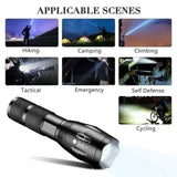 2020 New High Quality Upgrade CREE XM-L2 LED Cree Led Torches Zoomable Tactical LED Flashlight Lamp
