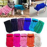 XS-XL Dog Clothes For Large Small Dogs Cat Clothing For Pet Dog Coat Sweater Dogs Jacket Chihuahua Cotton Pure TShirt Cat Vest Costume