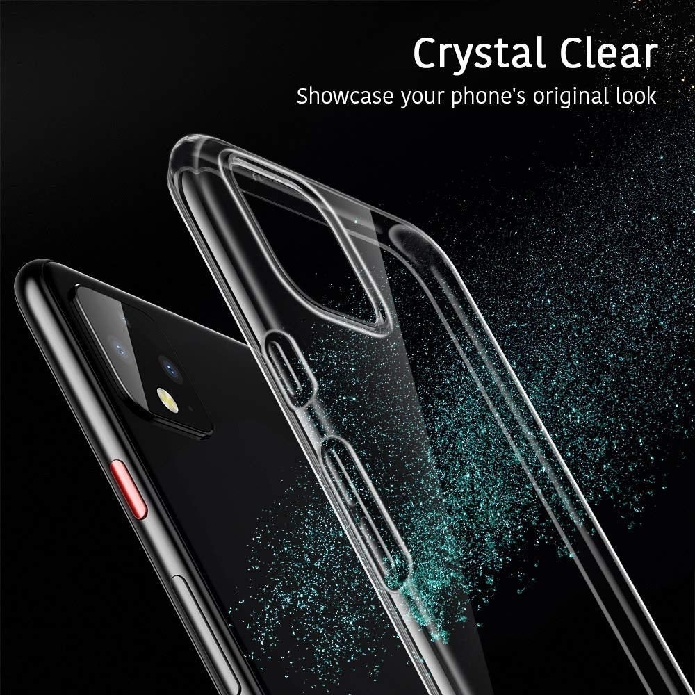 Ultra Thin Transparent Silicone TPU Case Cover for Google Pixel 4 XL / 4 / 3A XL / 3A / 3 XL / 3 XL