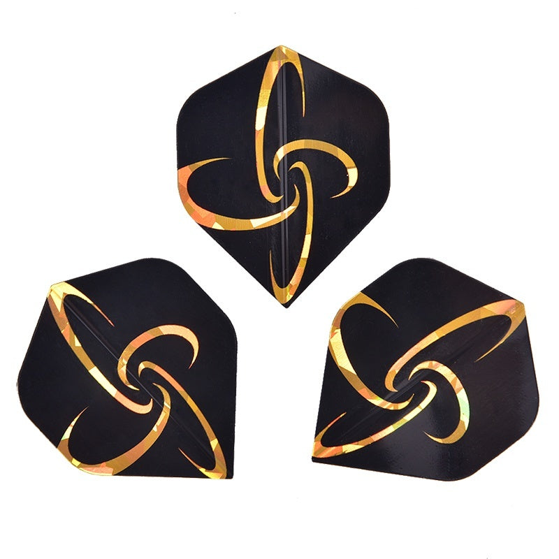 15/30pcs PVC Reflective Laser Dart Wing Set Darts Flights Nice Dart Flights Set