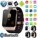Men Women 2.0M Camera Bluetooth Smart Watch Phone Mate Compatible with Android and Apple Phones