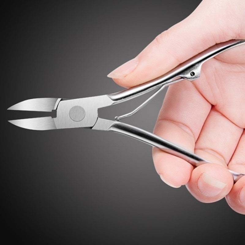 Nail Art Cuticle Nipper Cutter Clipper Manicure Pedicure Stainless Steel Tools