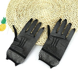 Women's Wrist Wedding Driving Lace Gloves Bridal Party Prom Fishnet Gloves