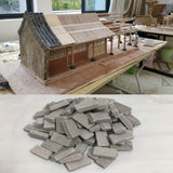 50/100PCS Miniature DIY Durable Sand Table Diorama Landscape Kids Scenery Building Toy Modelling Simulation Brick Portable