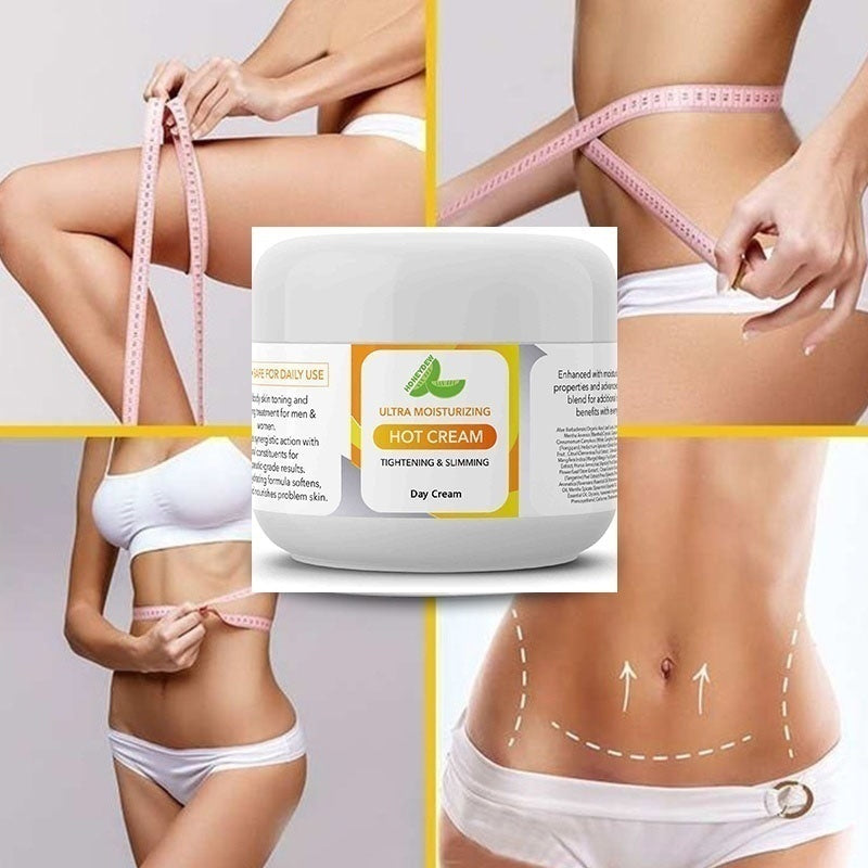 Belly Fat Burner for Women and Men  Hot Cream Cellulite Treatment    Natural Anti Aging Cream with Antioxidants - Deep Tissue Massage Muscle Relaxer