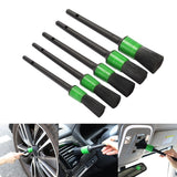 1/5 pcs Multi-function Car Wash Fine Crevice Brush Interior Beauty Cleaning Small Brush