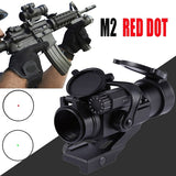 M2 Hunting RifleScopes Airsoft Tactical Holografische Optical red dot Scope 20mm Rail Chasse Caza Luneta Para reddot for hunting