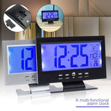 LED Background Light Sound Control Induction Perpetual Calendar Clock Snooze Clock Digital Clock Alarm  Clock