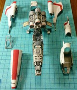 High quality Film fighter ultra fine Edition 3D Paper model kit