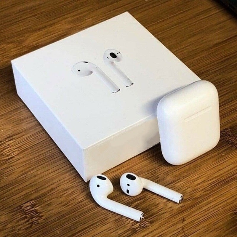 New Version Wireless Earphone Stereo Earbud Headset With Charging Box Mic For All Smart Phone