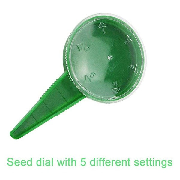Creative Home Seed Seeder Gardening Tools 5 Adjustable File Seed Planting Tool
