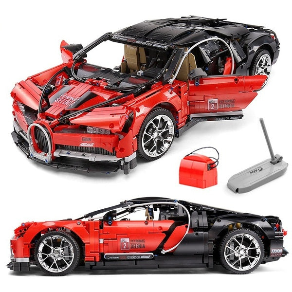 New 3618pcs Racing Car Model Sports Car Technicings Building Blocks Bricks Set Educational Toys For Children Gifts