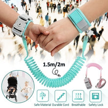 Load image into Gallery viewer, Baby Child Anti Lost Safety Wrist Link  Leash Anti-lost Link Walking Harness Wristbands Wrist Strap
