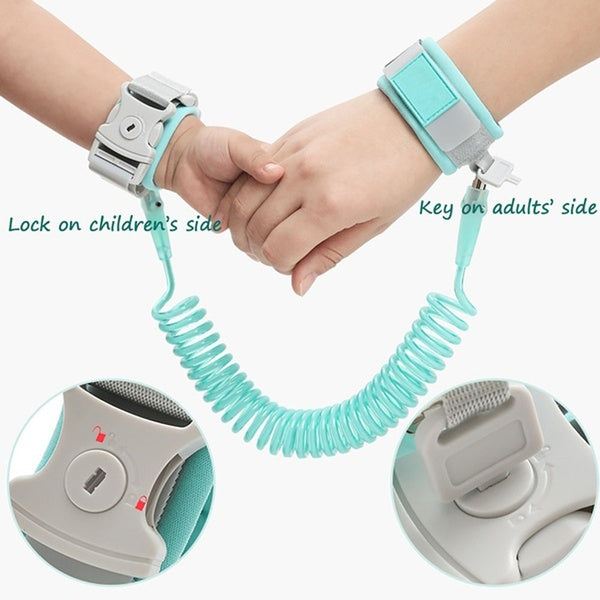Baby Child Anti Lost Safety Wrist Link  Leash Anti-lost Link Walking Harness Wristbands Wrist Strap