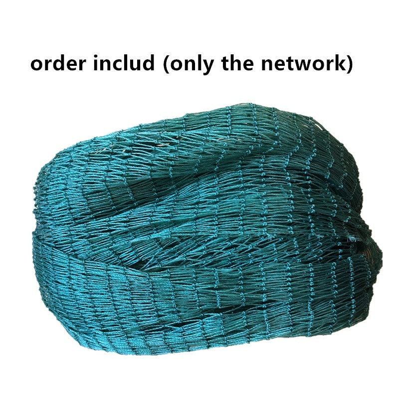 Semi finished product polyvinyl chloride fishing network trawl fishing net Breeding cages net with knort thick line Accessories