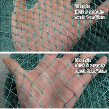 Load image into Gallery viewer, Semi finished product polyvinyl chloride fishing network trawl fishing net Breeding cages net with knort thick line Accessories