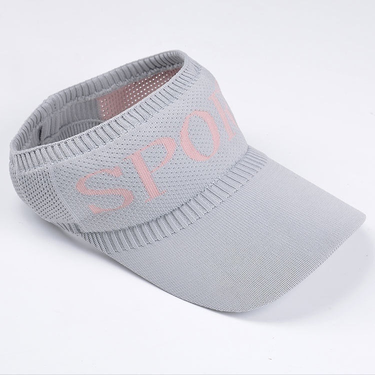Sports Topless Baseball Cap Knitted Casquette Golf Sun Hats Sunshade Beach Hat Women's Casual Trip Travel Sun Visor Caps
