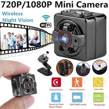 Load image into Gallery viewer, 720P 1080P Full HD Micro Mini DV Camera IR Night Vision Wireless Tiny Camcorder