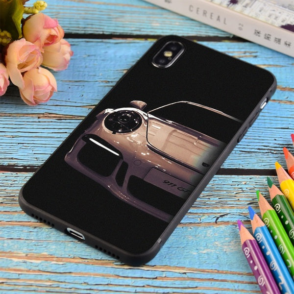 Porsche 911, Porsche Gt3 Print Soft Silicone Matt Case For Apple iPhone and Samsung Galaxy