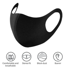 Load image into Gallery viewer, 20/10/5/1 Pcs 3D Ultra-thin Breathable Dustproof Mouth Mask Anti-Dust Haze Flu Allergy Protection Face Masks Washable Reusable Sponge Masks