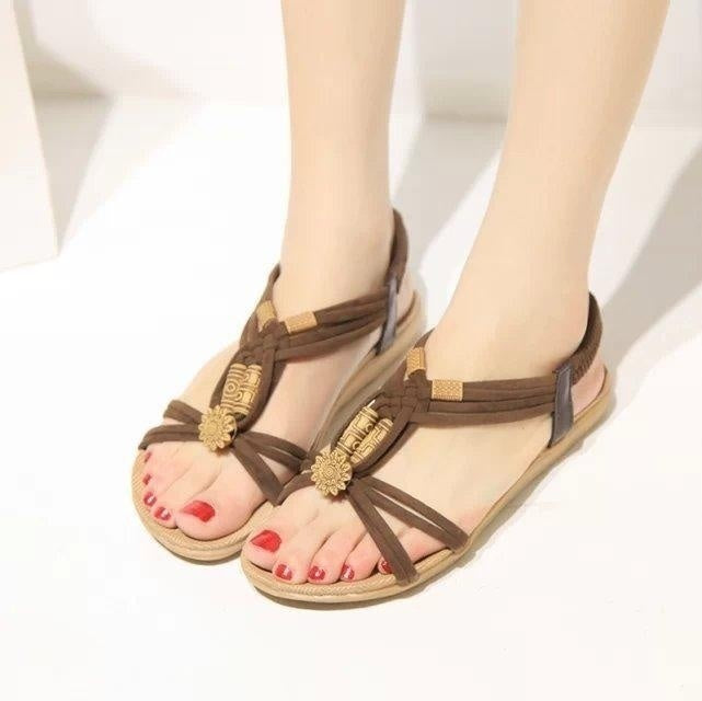High Quality Women Shoes Sandals Comfort Sandals Summer Flip Flops Fashion Cool Sandals High Quality Flat Sandals Gladiator Sandalias