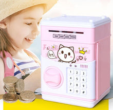 Load image into Gallery viewer, Cute Simulation of ATM Password Boxes Mini Safe Paper Money Piggy Bank Money Pot
