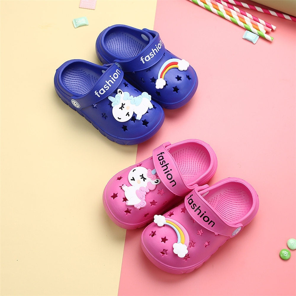 News Summer Baby Shoes Sandals 1-8 Years Old Boys Girls Beach Shoes Breathable Soft Fashion Sports Shoes High Quality Kids Shoe