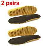 Sports Insoles For Shoes Sole Mesh Breathable Cushion Deodorant Running Insoles For Feet Man Women Orthotic Insoles Memory Foam