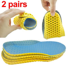 Load image into Gallery viewer, Sports Insoles For Shoes Sole Mesh Breathable Cushion Deodorant Running Insoles For Feet Man Women Orthotic Insoles Memory Foam