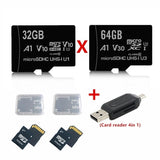 Memory Card 32GBX2 Special Discount Micro SDXC UHS-I Card with Adapter - 100MB/s U1 A1 - SDSQUAR-32GB Micro Flash Memory