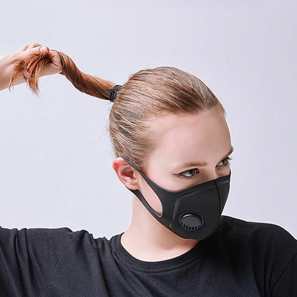 2 Styles Unisex Mouth Mask Anti Dust Fog Face Mouth Mask Windproof Mask for Women Men Sports Cycling Camping Travel