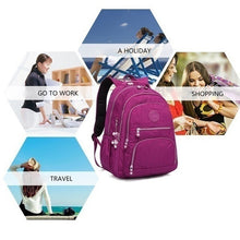 Load image into Gallery viewer, Fashion Classic Backpack School Bag for Teenage Girls Nylon Backpacks Casual Travel Laptop Bag for Men and Women