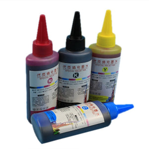 100ml Universal Color Ink Cartridge Refill Kit For HP & Canon Series Printers