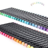 80/60/48/40/36/30/24 Colors Single Art Markers Brush Pen Sketch Alcohol Based Markers Dual Head Manga Drawing Pens Art Supplies