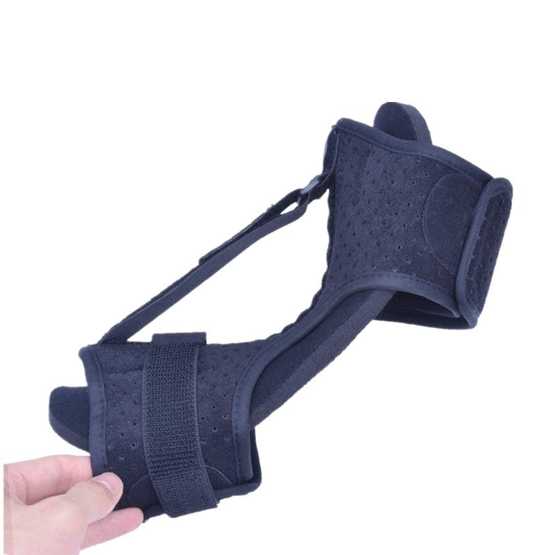 Adjustable Foot Drop Orthotic Night Splint Plantar Fasciitis Brace Elastic Dorsal Night Splint for Heel Ankle Arch Foot Pain