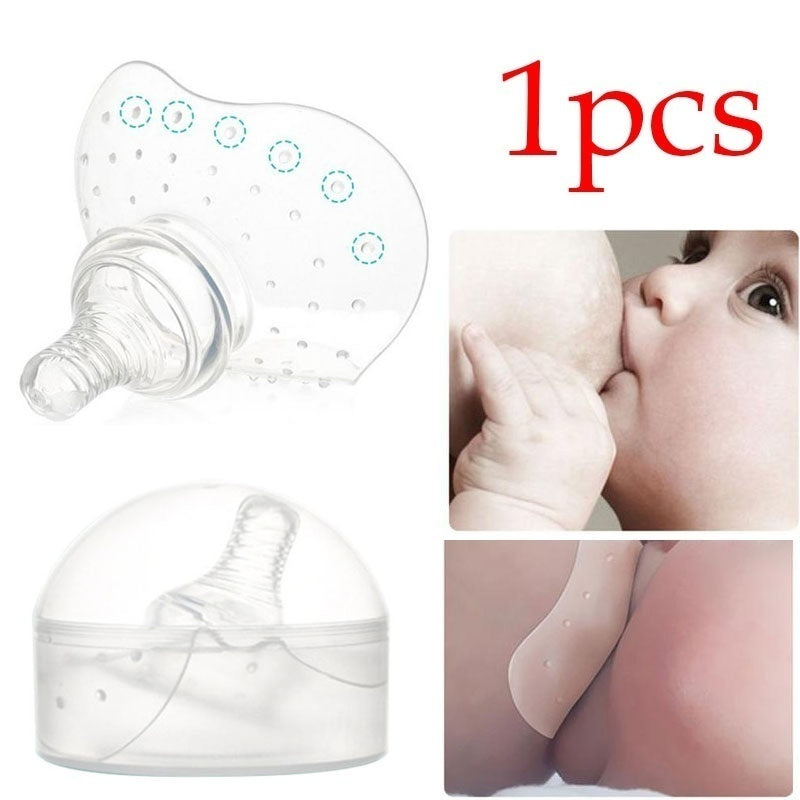 1pcs Semicircle Style Maternity Silicone Nipple Shield Protectors Breastfeeding Mother Milk Nipple Protection Cover Breast Pump Accessories