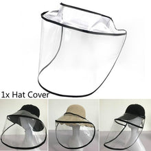 Load image into Gallery viewer, Protective Face Mask Hat Cap Cover Anti-Spitting Splash Hat Windshield Cover