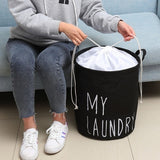 1/2/3 Grid Dirty Clothes Storage Basket  Three Grid Organizer Basket Bathroom  Home Office Collapsible Large Waterproof Laundry Hamper