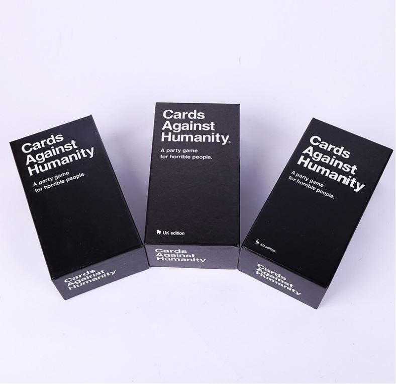 1.7/2.0 Version Card Game Cards - Against - Humanity Table Cards Children Teenager Board Games Black Card Games Party Game