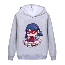 Load image into Gallery viewer, Miraculous Ladybug Kids Clothes Hoodie Boy Girl Sweatshirt For Boys and Girls Casual Sportswear