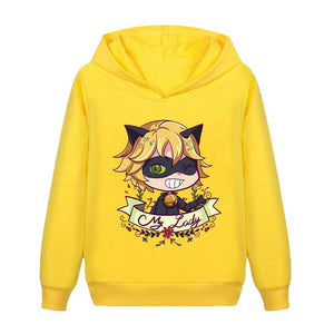 Miraculous Ladybug Kids Clothes Hoodie Boy Girl Sweatshirt For Boys and Girls Casual Sportswear