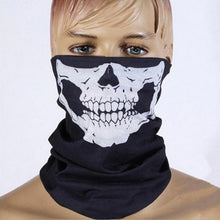 Load image into Gallery viewer, Skull Bandana Bike Motorcycle Helmet Neck Anti-bacterial Anti-Dust Face Mask Paintball Ski Sport Headband Outdoor Protective Mask
