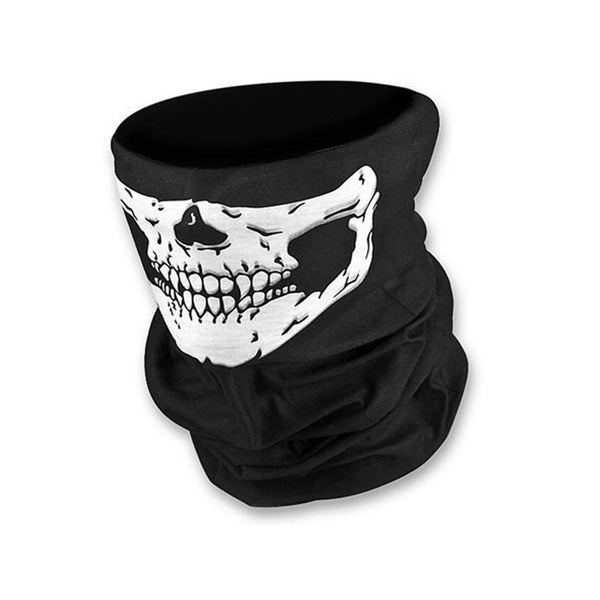 Skull Bandana Bike Motorcycle Helmet Neck Anti-bacterial Anti-Dust Face Mask Paintball Ski Sport Headband Outdoor Protective Mask