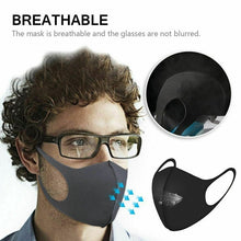 Load image into Gallery viewer, 1/3/6/9PCS Face Mouth Mask Anti Dust Mask Filter Windproof Mouth-muffle Bacteria Proof Flu Face Masks Care Reusable Washable