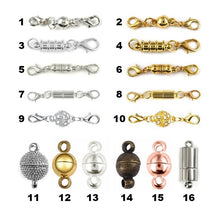 Load image into Gallery viewer, 5/10/20pcs/Lot Lobster Magnetic Clasp Magnet Buckle Connectors For Bracelet & Necklace